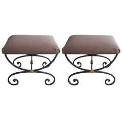 Pair Neoclassical Benches