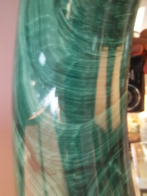 Faux Malachite Mirror  2