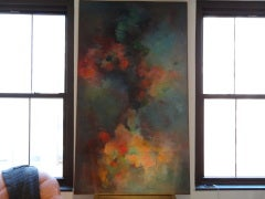 Abstract Painting Signed Gusti Wyman image 3