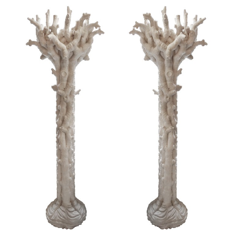 Pair  of Tree Shaped Torcheres 1