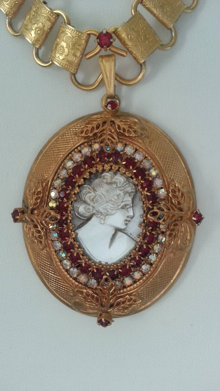 Victorian Inspired Necklace By Hobe At 1stdibs