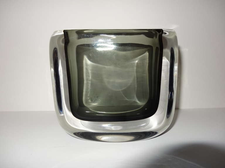 Smoked Art Glass By Orrefors At 1stdibs
