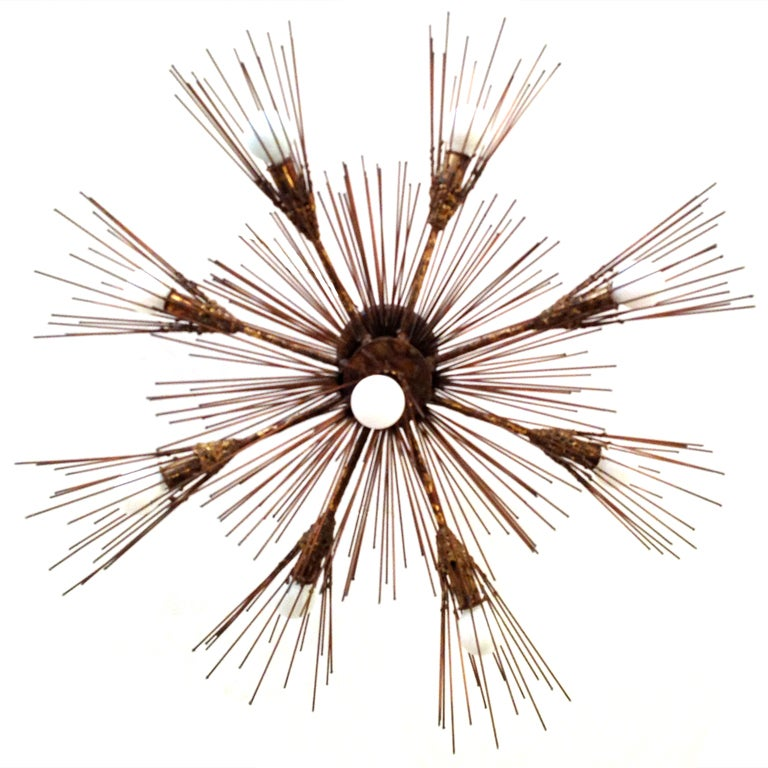C Jere Flush Twig Chandelier At 1stdibs