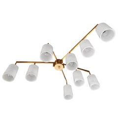 Italian Mid-Century Ceiling Light