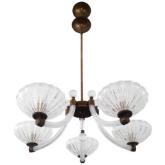 Barovier Glass 20's Chandelier