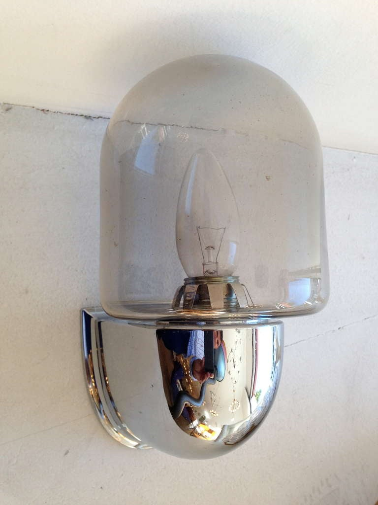 Wall Lights For Large Spaces : Pair of German Space Age Wall LIghts at 1stdibs