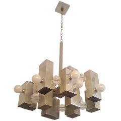G. Sciolari Cubic Chandelier