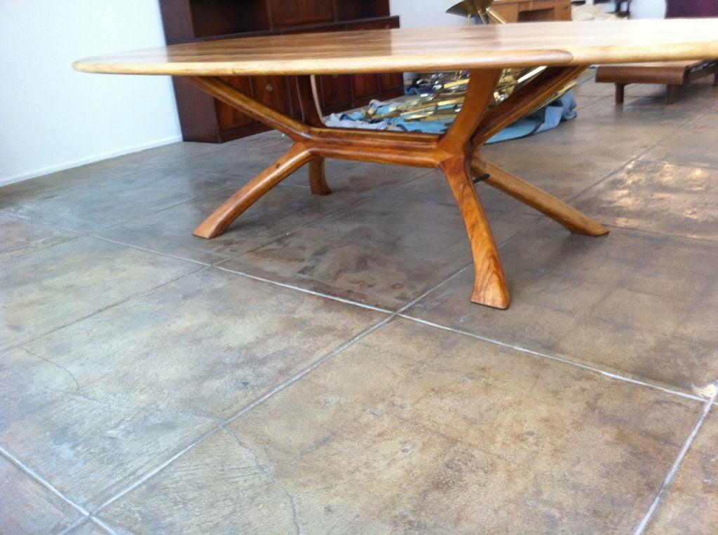 grand koa california craftsman dining table is no longer available