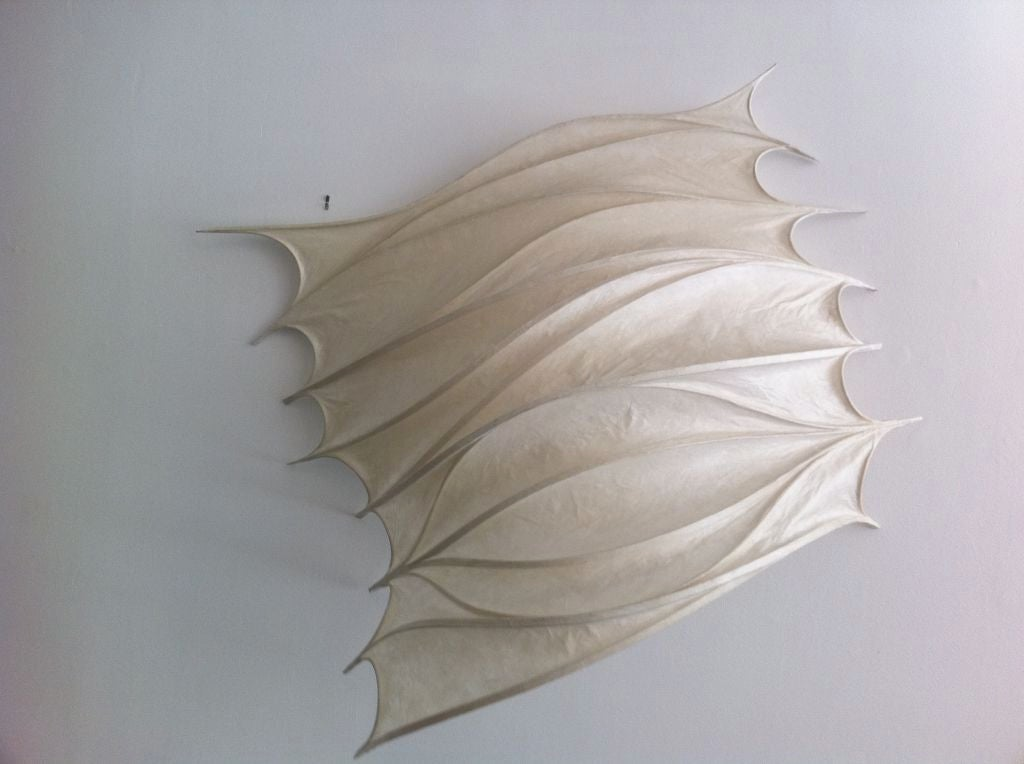 American Large Stephen White Light Sculpture / Sconce