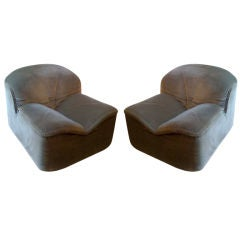 Pair of Pace Collection Lounge chairs (2)