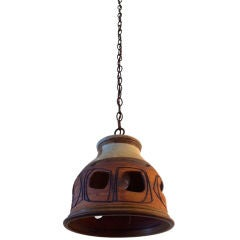 California Art Pottery Lantern
