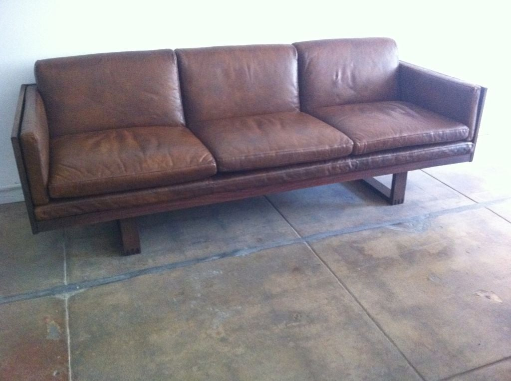 60s style leather sofas refil sofa for Furniture 60s style