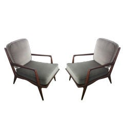 Pair of Carlo Di Carli 50's Lounge Chairs