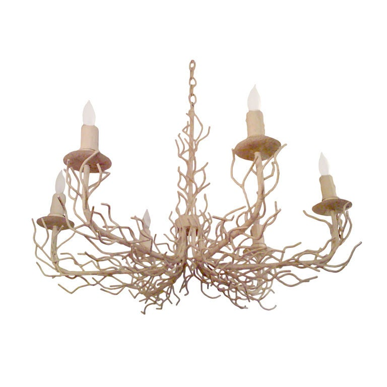 1960s white coral chandelier at 1stdibs 1960s white coral chandelier for sale aloadofball Gallery