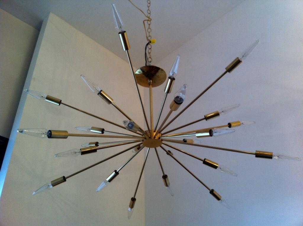 Sarfatti Astral Sputnik Chandelier For Sale 5