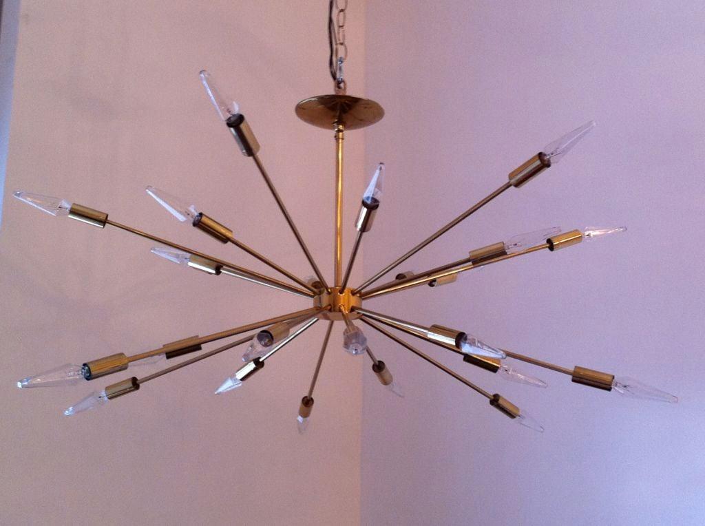American Sarfatti Astral Sputnik Chandelier For Sale