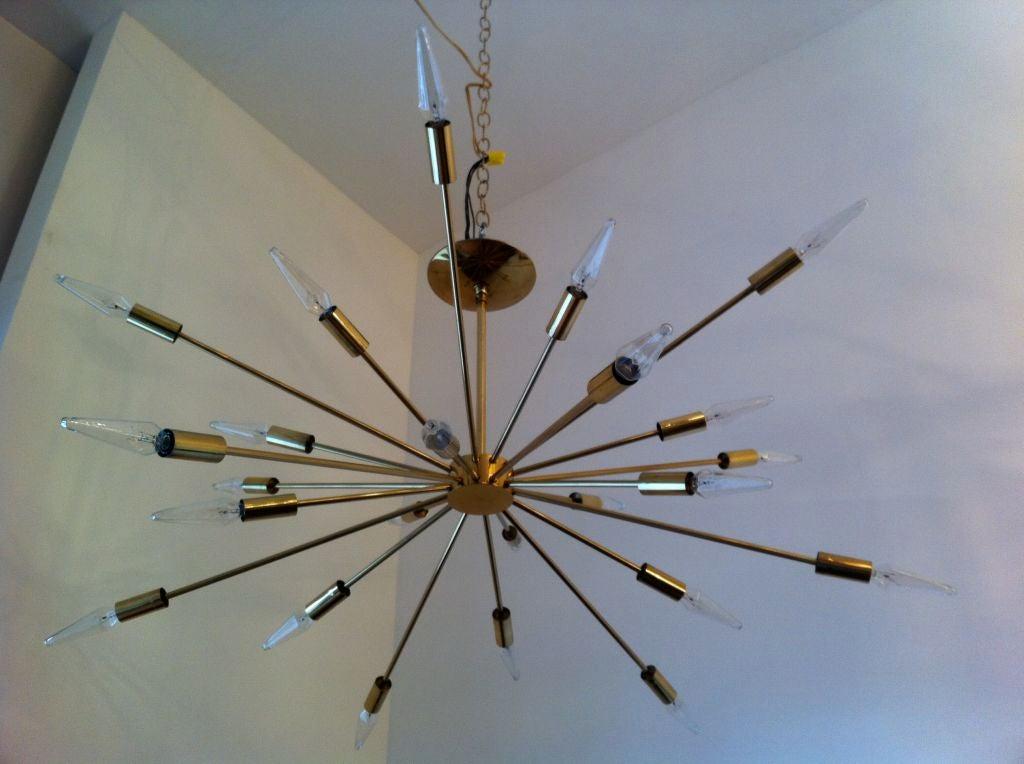 Sarfatti Astral Sputnik Chandelier For Sale 4