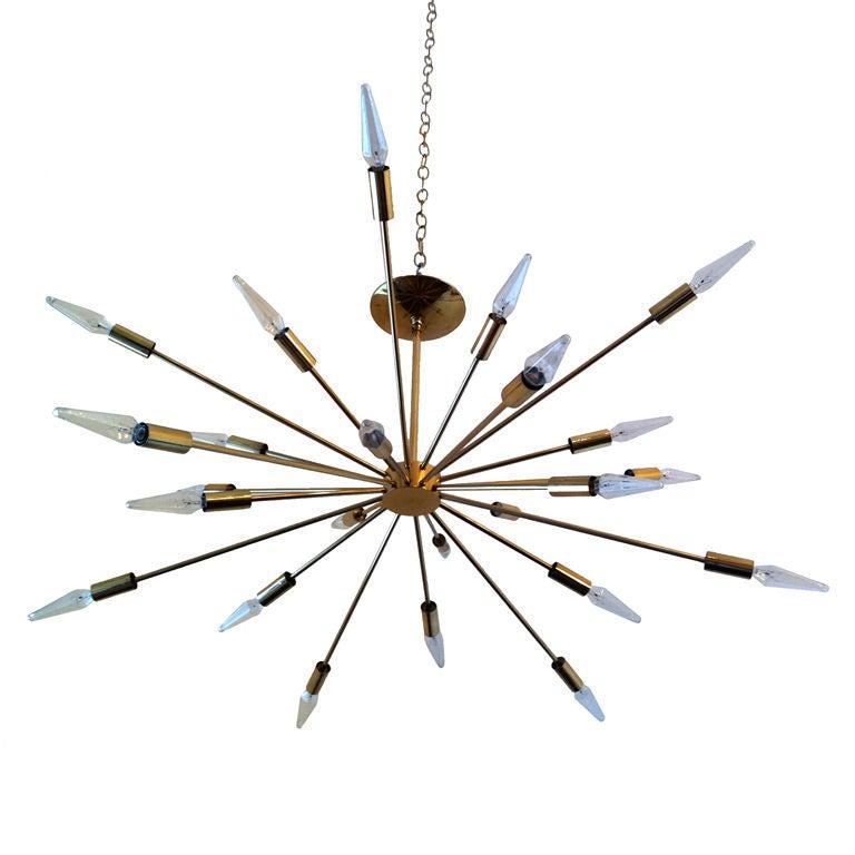 Sarfatti Astral Sputnik Chandelier For Sale