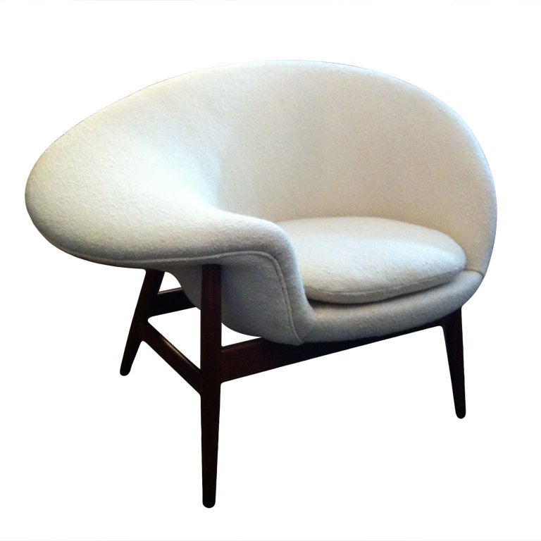 "Hans Olsen ""Fried Egg"" Chair For Sale"
