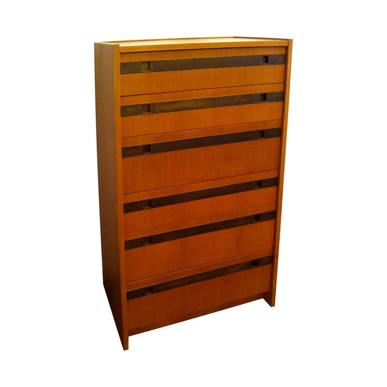 Harry Lundstead 1970 Chest of Drawers