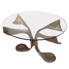 Bronze Center/ Dining Table by Claude Victor Boeltz