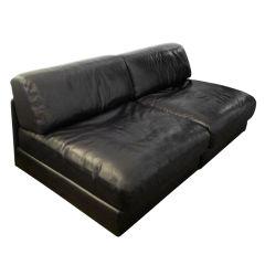 De Sede Modular Small Sofa or Lounge Chairs