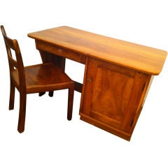 Franz Xaver Sproll Craftsman Desk and Chair