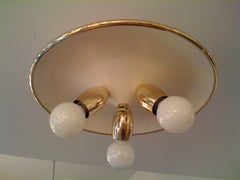 Italian 1950s Flush Light