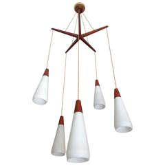 Dutch 1950s Hanging Pendant