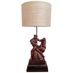 1940s Heifetz Table Lamp