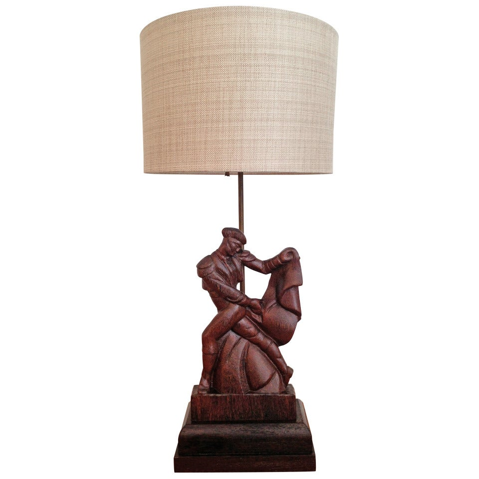1940s Heifetz Table Lamp