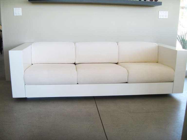 Massimo Vignelli Saratoga Sofa At 1stdibs