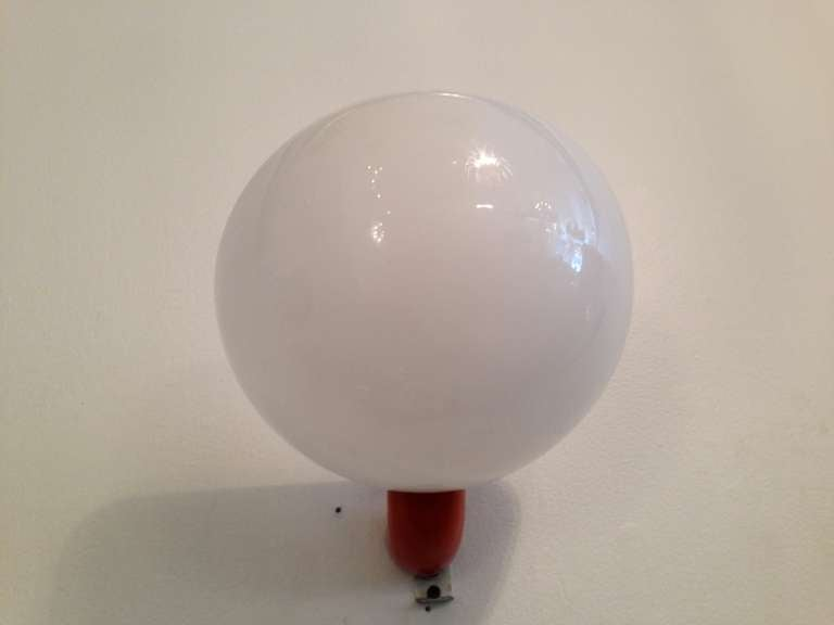 """Mid-20th Century 1960s Italian """"Space-Age"""" Wall Lights For Sale"""