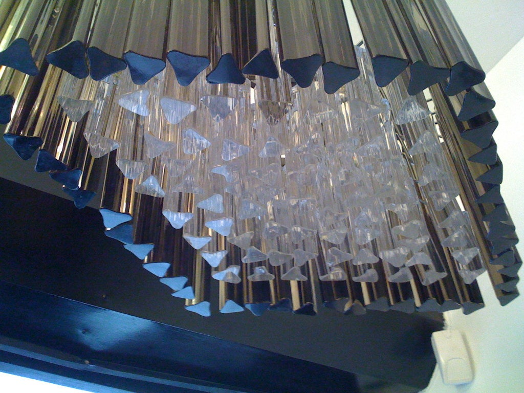 Venetian Prism Chandelier For Sale 1