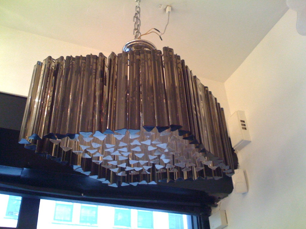 Venetian Prism Chandelier For Sale 2
