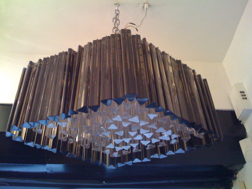 Venetian Prism Chandelier For Sale 3