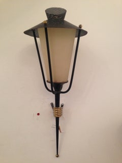 Set of Four Arlus French Wall Lights