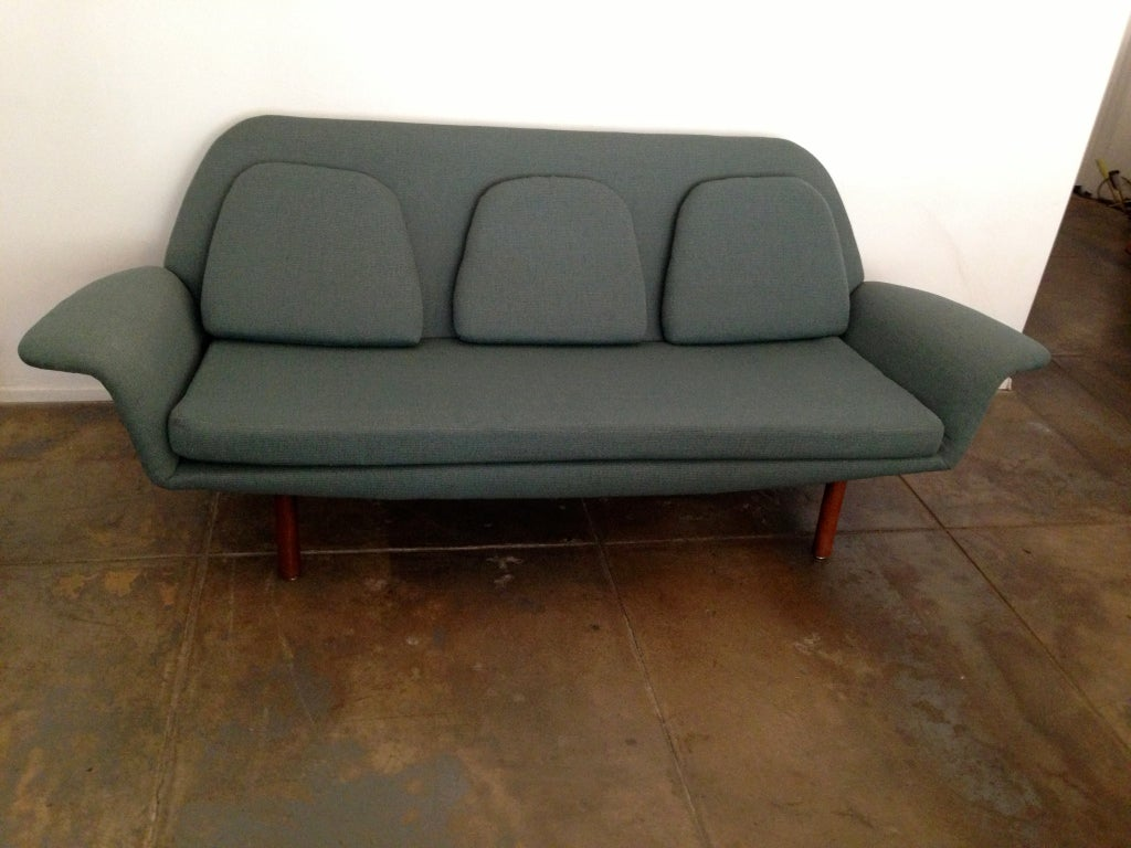Sixties Danish Modern Sofa At 1stdibs