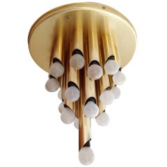 RAAK 1960s Flush Ceiling Light