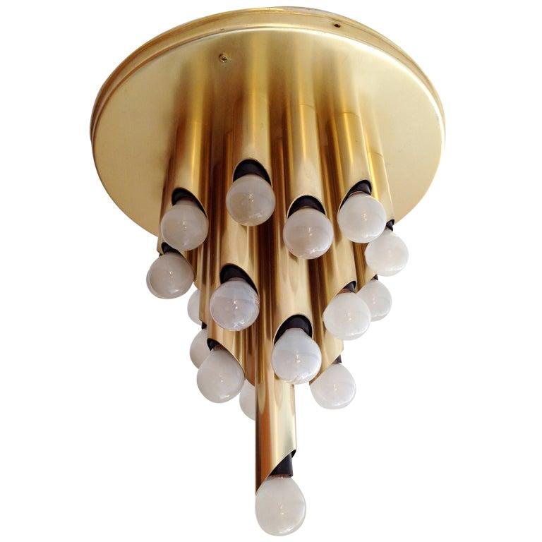 RAAK 1960s Flush Ceiling Light
