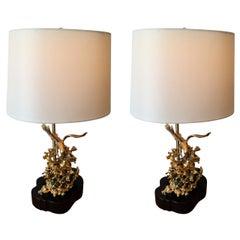 Pair of Claude Victor Boeltz Table Lamps
