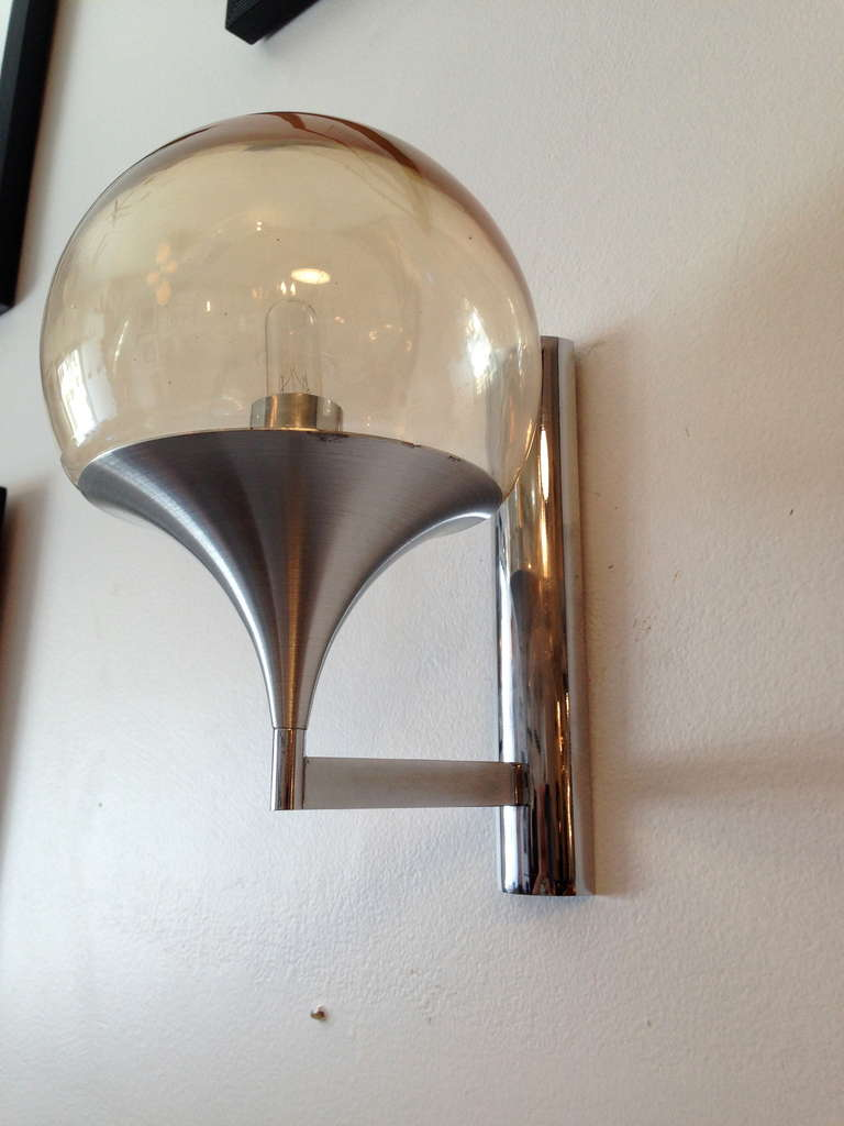 Wall Lights For Large Spaces : Pair of Sixties