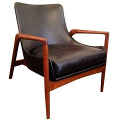 IB Kofod Larsen 1960s Lounge Chair