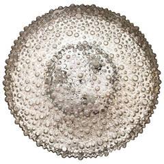 """""""Jumbo"""" Size Bubble Limburg Glass Flush Light"""