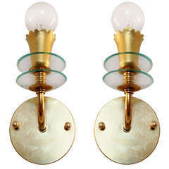 Pair of Italian 1940s Sconces