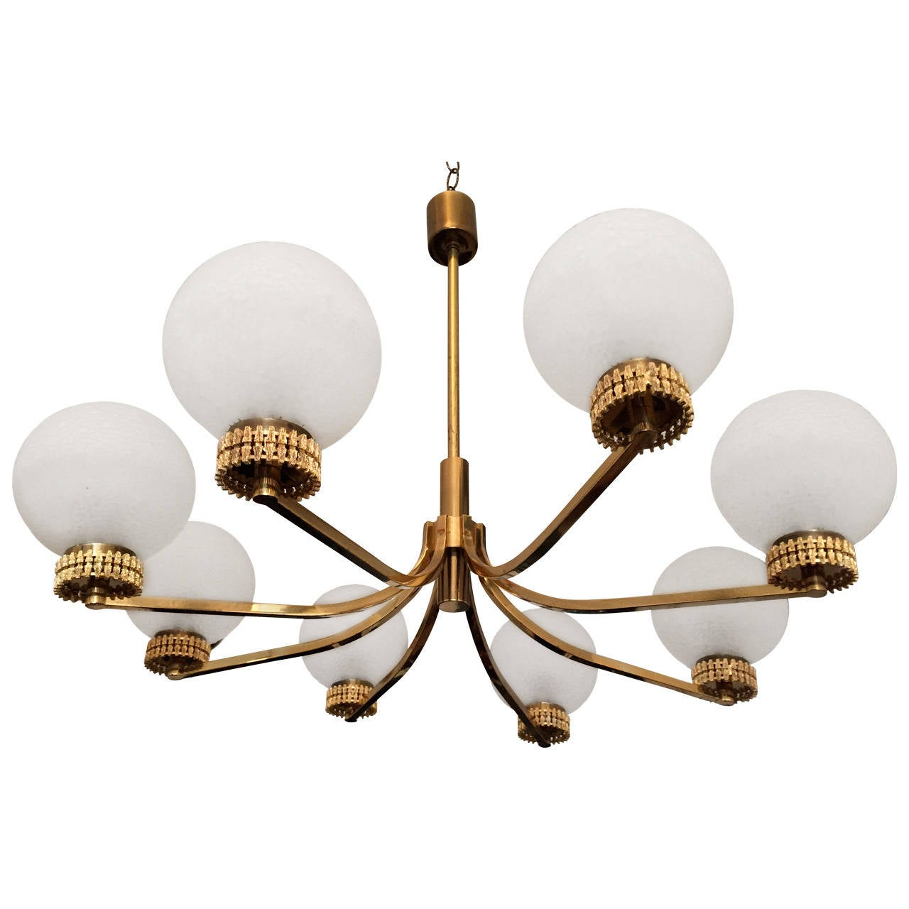 "German ""High Style"" 1970s Chandelier For Sale"