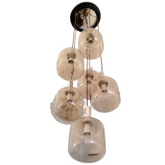 Reggiani Cascading 1960s Ceiling Light