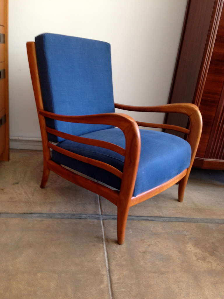 Pair of Italian 1940s Lounge Chairs 2