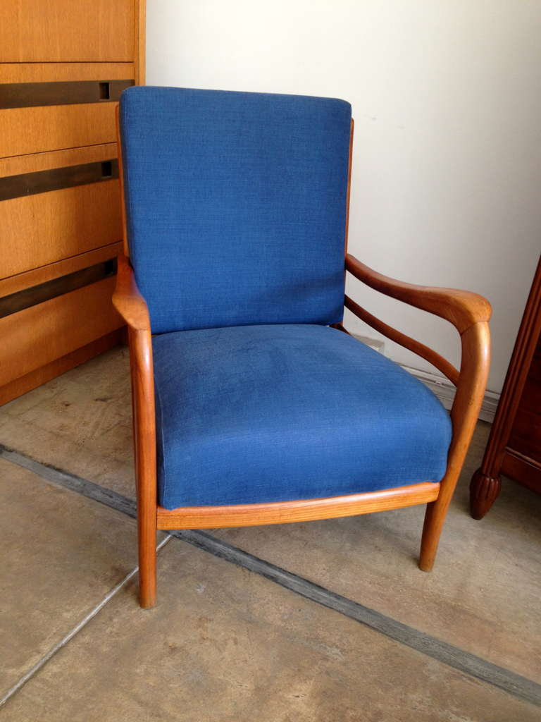 Pair of Italian 1940s Lounge Chairs 3