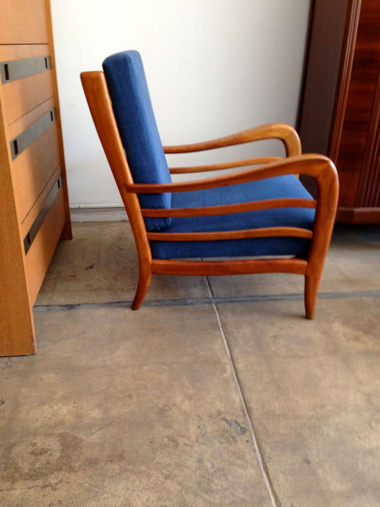Pair of Italian 1940s Lounge Chairs 4